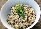 Toasted Pearl Barley with Lemon and Herbs